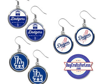 LOS ANGELES Baseball EARRiNGS, CHooSE Design - Super CUTE!  +FReE SHiPPiNG & Discounts*