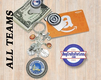 ALL NFL SPoRTS Football TEAMS - Gift - Key Ring, Magnet, Money / Gift Card Clip +Discounts & Free Shipping*