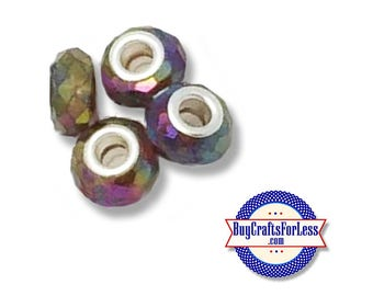 Acrylic BEADs,rainbow, 8 or 25 pcs  +FREE SHiPPing & Discounts*