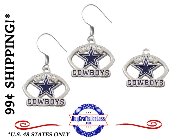 DALLAS EARRiNGs or CHARMs - VeRY NiCE!  +99cent SHiPPiNG