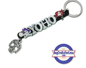 PIRATE, YoHo Key Ring, Letters or Charms from BuyCraftsForLess +FREE Shipping & Discounts*