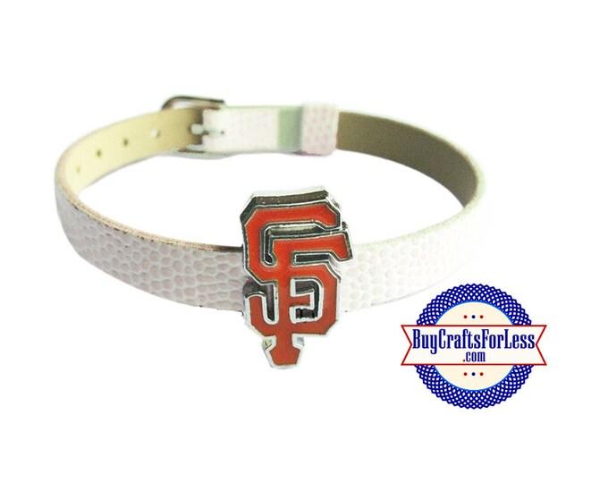 SAN FRANCISCO Charm for 8mm Slider Bracelets, Collars, Key Rings +FREE Shipping & Discounts*