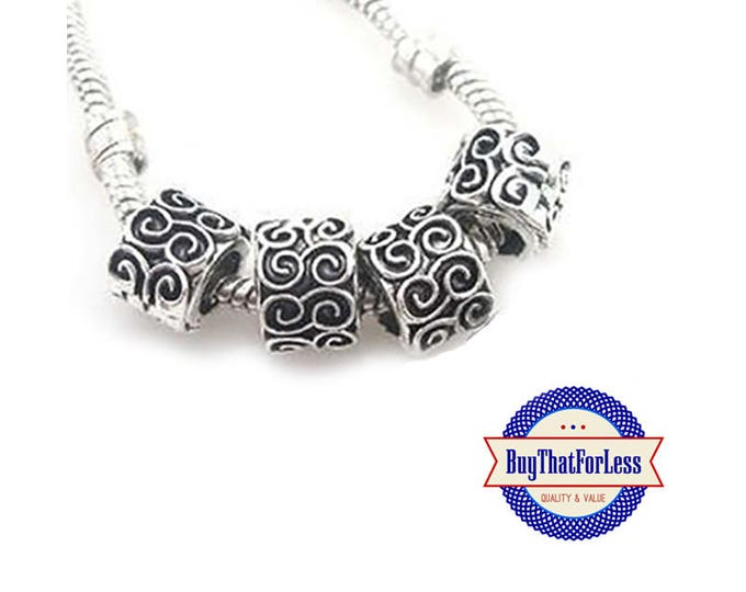 """CLEARANCE - Swirl """"Carved"""" Beads, 12 pcs **FREE Shipping with orders 10 dollars+ **"""