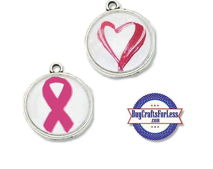 Awareness CABoCHON or Heart CABoCHON -Any AWARENESS campaign-2 sizes +FREE Shipping & Discounts*