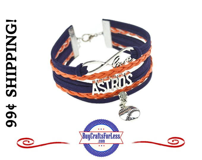 HOUSTON Leather SUEDE Bracelet - CHooSE from 7 Charms - Super CuTE!  +99cent SHiPPiNG