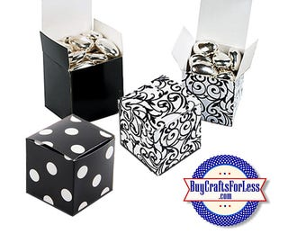 "Square 2"" GiFT BOX or PARTY FAVoRS with Tissue +FREE SHiPPiNG & Discounts*"