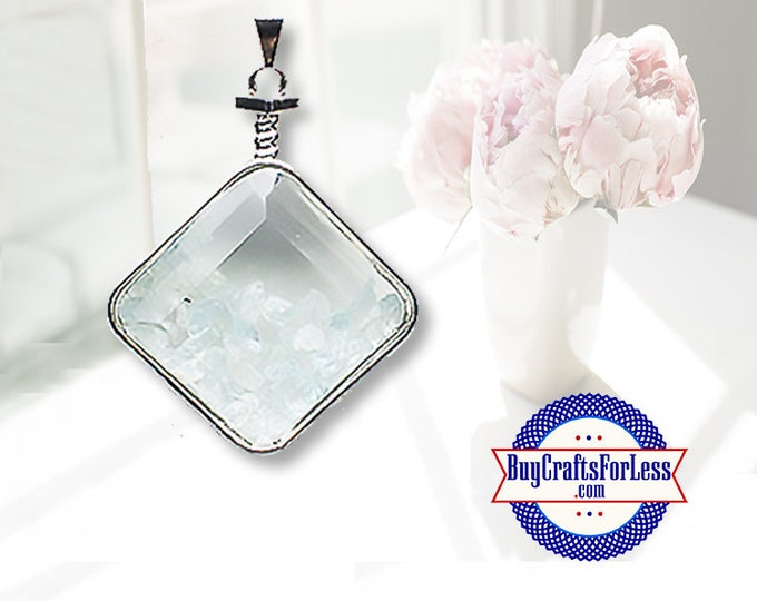 CLEARANCE Crystal PENDANT, Reiki Natural Aquamarine +FREE SHiPPING & Discounts*