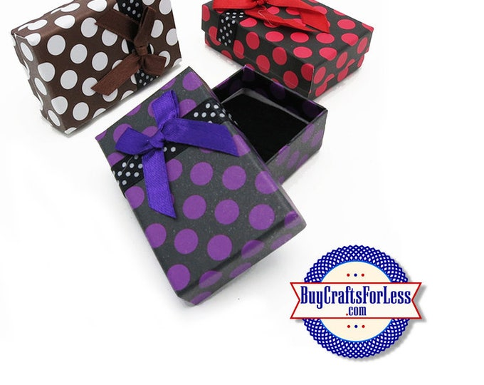 JEWELRY GiFT BoX with Insert, 3 Colors +FREE SHiPPiNG & Discounts*