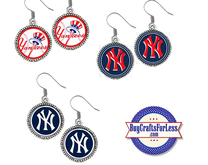 New YORK Baseball EARRINGS, CHooSE Design - Super CUTE!  +FReE SHiPPiNG & Discounts*