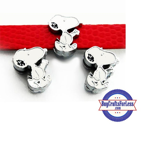 Cute DOG CHARM for 8mm Bracelets, Collars, Key Rings +FREE Shipping  Discounts*