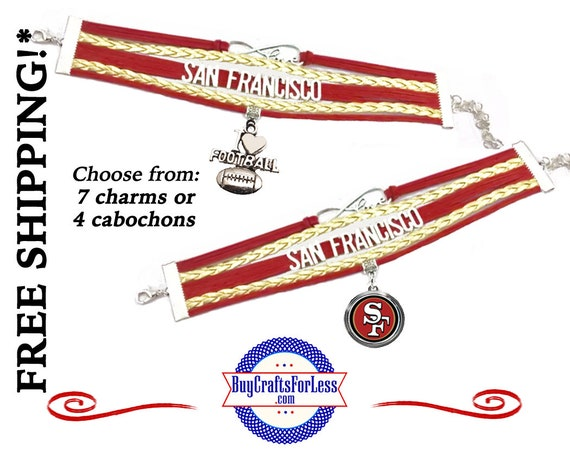 SAN FRANCiSCO BRACELET, Choose Charm OR Cabochon +FReE SHiPPiNG & Discounts