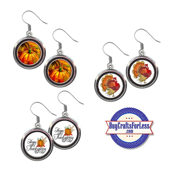 NiCE FaLL THANKSGiViNG EARRINGS, 3 NEW CuTE Styles +99cent Shipping & Discounts*