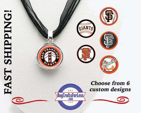 SAN FRANCiSCO Pendant, Choose Design and Cord Ribbon +FREE SHiPPiNG & Discounts