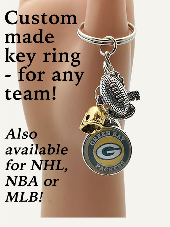 GREEN BAY Key Ring **FREE Shipping with orders 10 dollars+ **