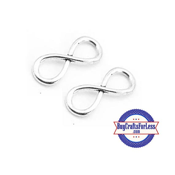 """INFINITY Simple CONNRCTeR Charm, 1"""", 8, 16, 24 pcs  +FREE SHiPPiNG & Discounts*"""