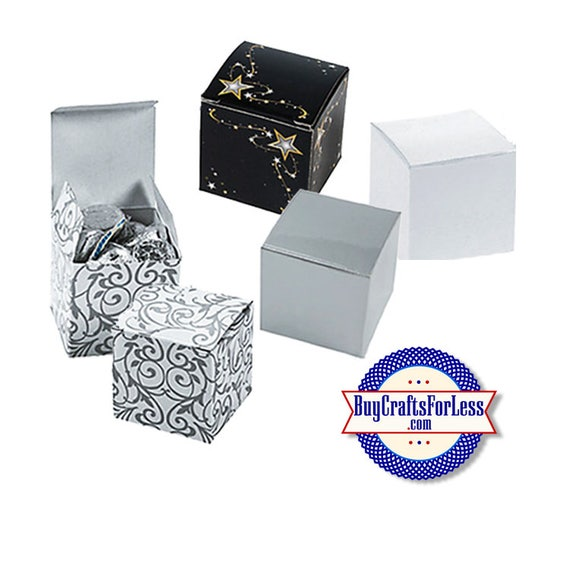 """Square 2"""" GiFT BOX or PARTY FAVoRS with Tissue +FREE SHiPPiNG & Discounts*"""