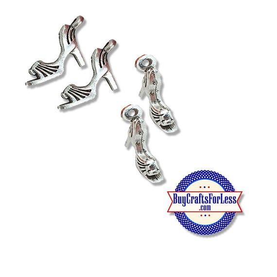 High HEEL SHOE Charms, 6, 12, 24 pcs +FREE Shipping & Discounts*