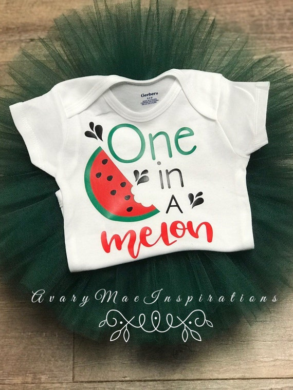 7d6e2bf87 One in a Melon Birthday Outfit, Sweet Watermelon Tutu & Onesie, Girls First  Birthday Skirt, Smash Cake Photo Shoot, Fruity One Birthday