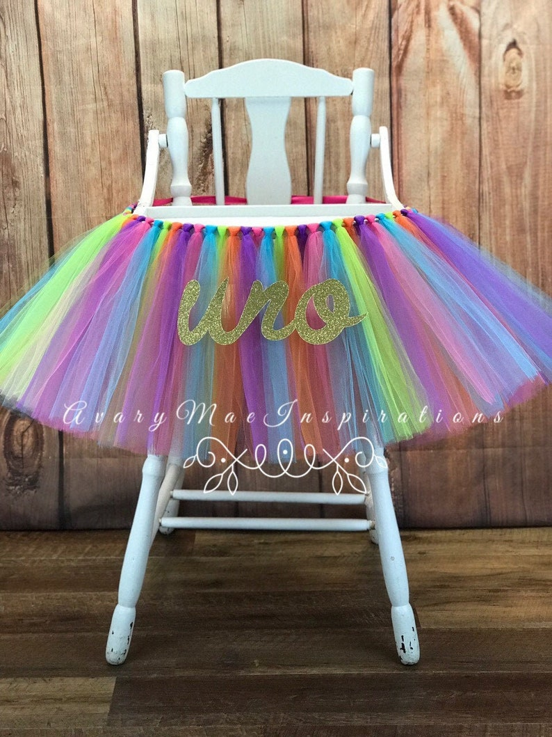 Fiesta First Birthday High Chair Tutu Fiesta Highchair tutu image 0