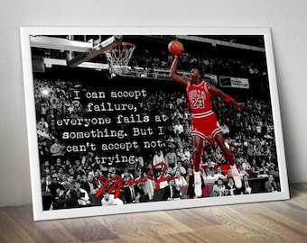 56df79539da617 Michael Jordan Inspirational   Motivational Poster