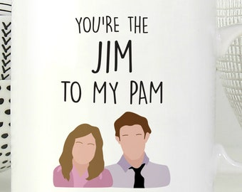 Jim to my pam | Etsy