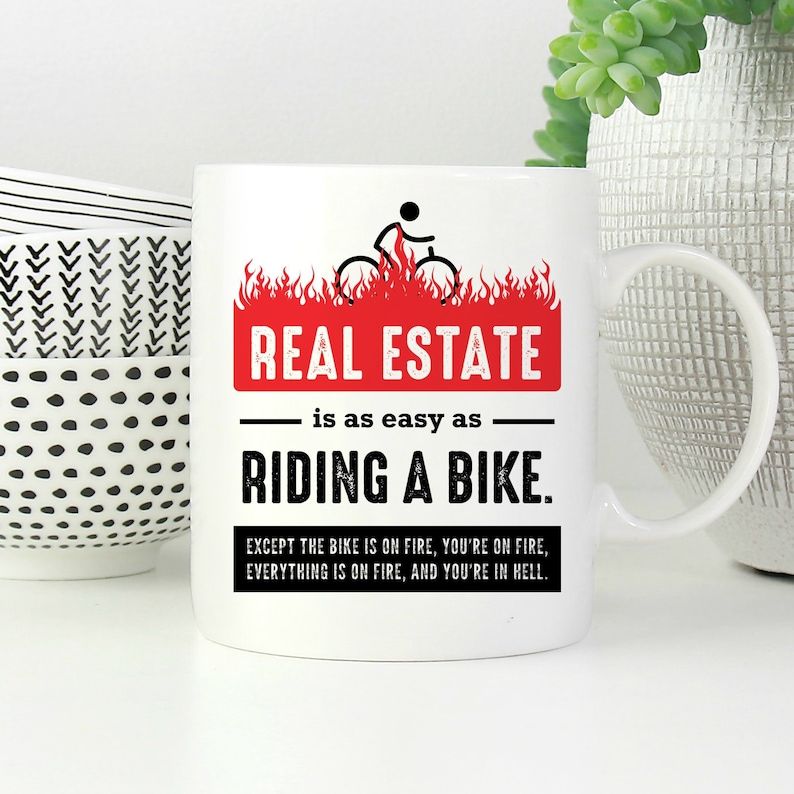 Real Estate Gifts for Agent, Funny Real Estate Agent Mug, Real Estate Agent  Gifts, Closing Gift for Real Estate, Real Estate Broker Gift