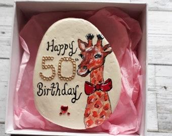 50th Birthday Gift For Women Gifts Giraffes Ideas FriendBirthday Mum