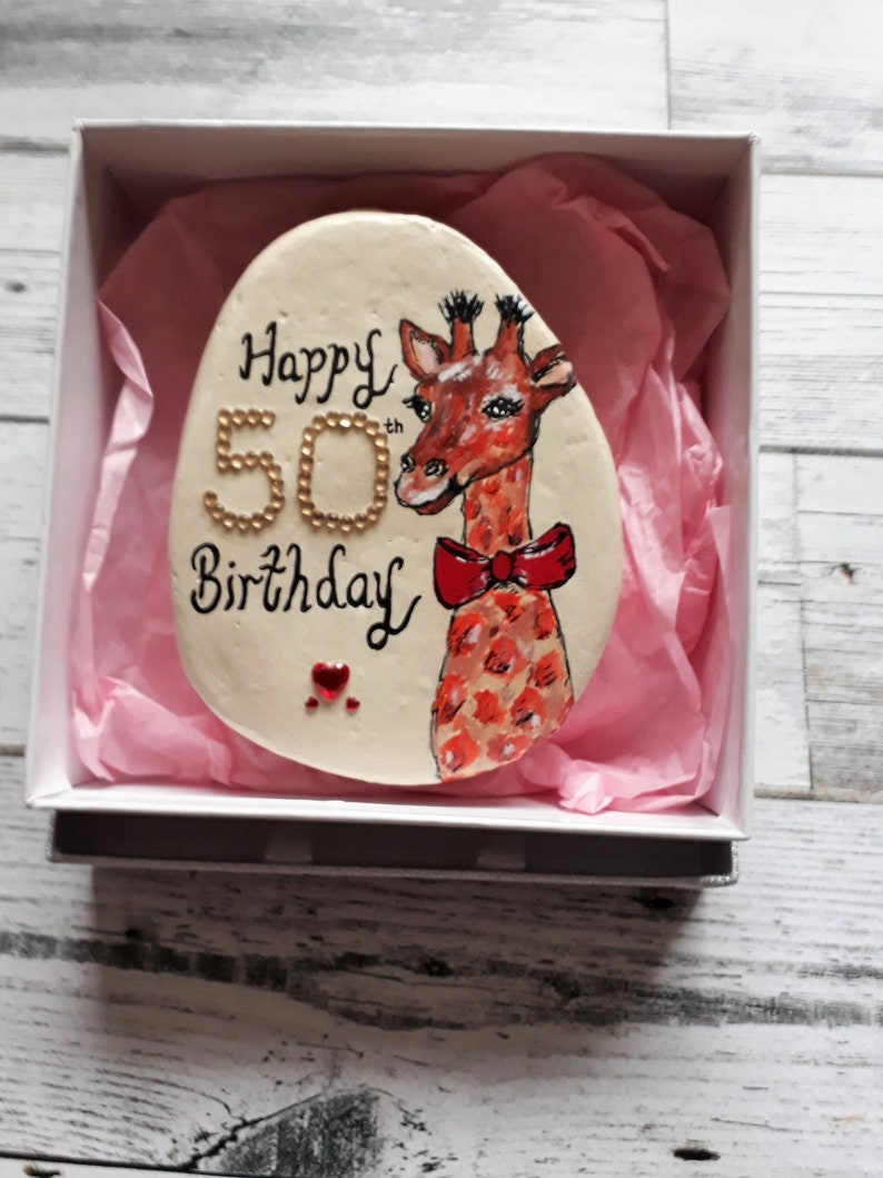 50th Birthday Gift For Women Gifts Giraffes Ideas