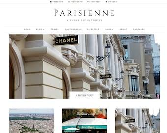 WordPress blog theme Divi Child template layout Travel Beauty Lifestyle Responsive Custom Website Minimalist
