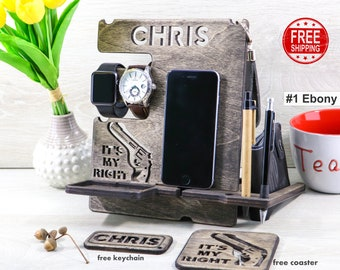 Docking Station Gift For Men Who Have Everything 30th 50 Anniversary Birthday