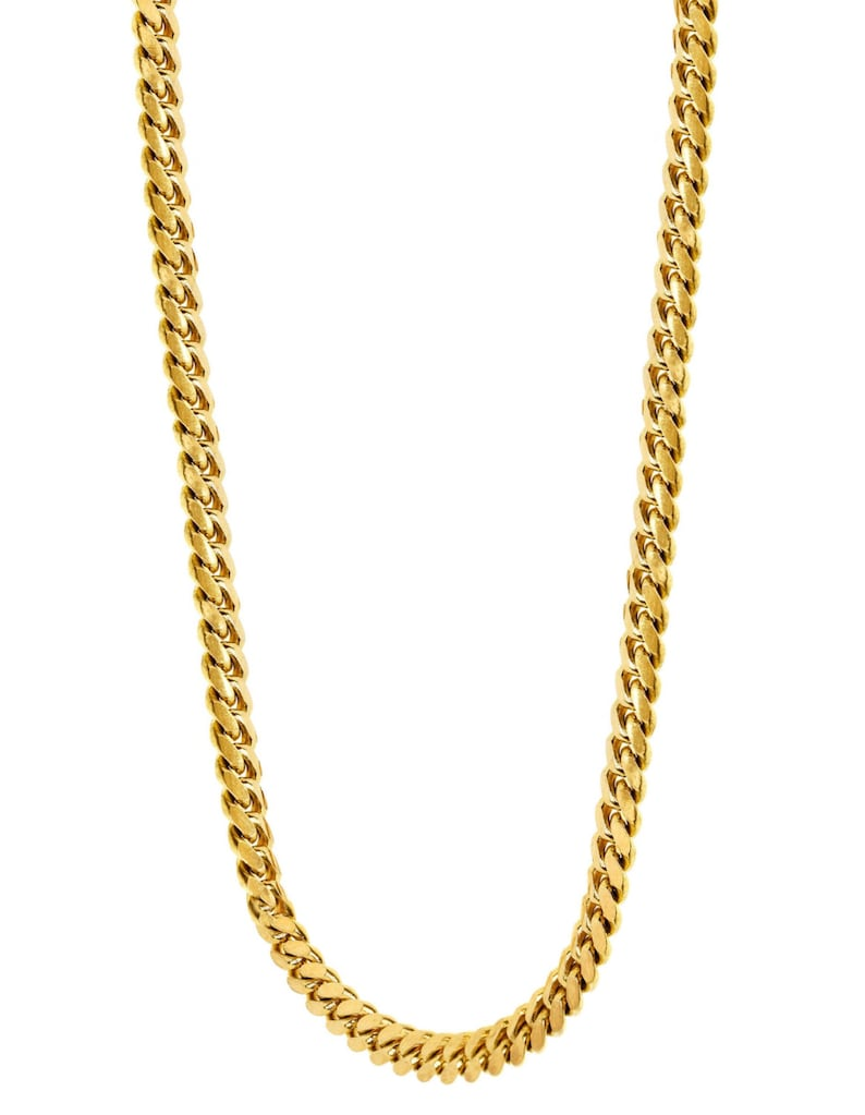 cc6f5c80c269e Handmade 24 Inch Solid 14K Yellow Gold Miami Cuban Link Chain - Custom Made  to Order - Straight From Manufacturer!