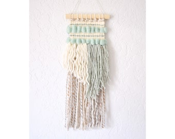 MADE TO ORDER- Wall Hanging | Weaving | Woven Wall Art | Handwoven Tapestry - yarn wall hanging, fabric wall hanging, boho tapestry, weave