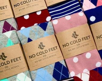 Groomsmen Socks for Wedding, Dress Socks for Groom, Best Men, Groomsman, Groomsmen, and Usher, Matching Socks Gift for Wedding Party