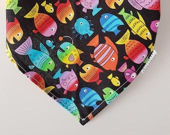Bandana -  Fluorescent Fish