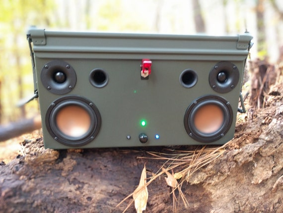 10mm Ammo Can Bluetooth Speaker Box