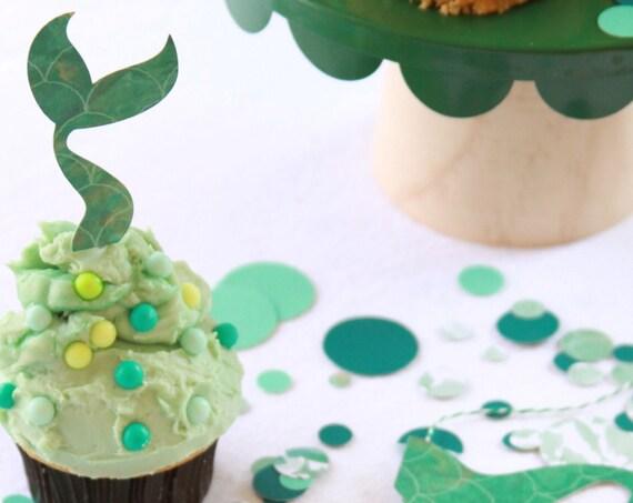 Mermaid  Confetti, Under The Sea Birthday Party, Mermaid Bachelorette Party, Tween Birthday