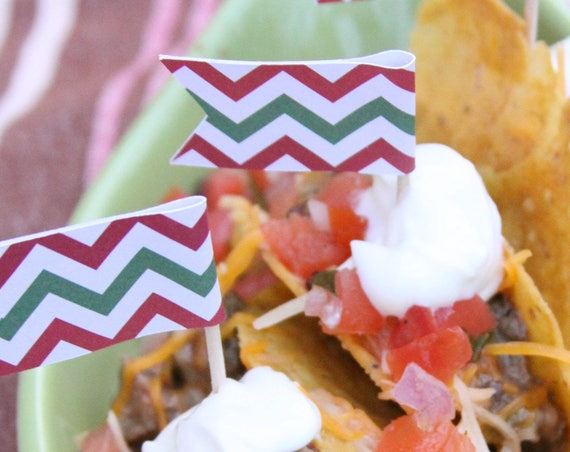 Cactus Party Cupcake Toppers, Llama Party, Taco Bout a Party, Feed Me Tacos, Cinco De Mayo