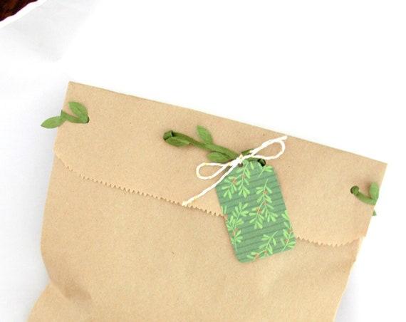 Medium Paper Bags, Brown Paper Bags, Kraft Bags, Party Favor Bags, Craft Bags, Christmas Gift Bags