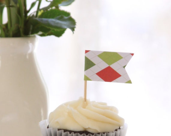 Derby Party Cupcake Toppers, Golf First Birthday Picks, Dad's Birthday Party Ideas