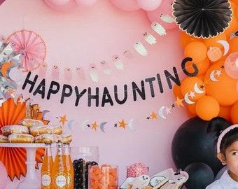 Halloween Happy Haunting Banner