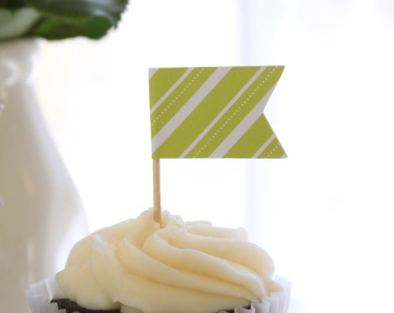 Christmas Party Cupcake Toppers, Afternoon Tea Hostess Ideas, Lime Green