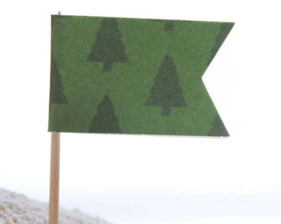 Lumberjack Shower, Pine Tree Toppers, Christmas Party, Camping Party Deco