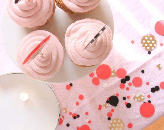 Kate Inspired Confetti, Designer Confetti, Valentine's Day Party Decor