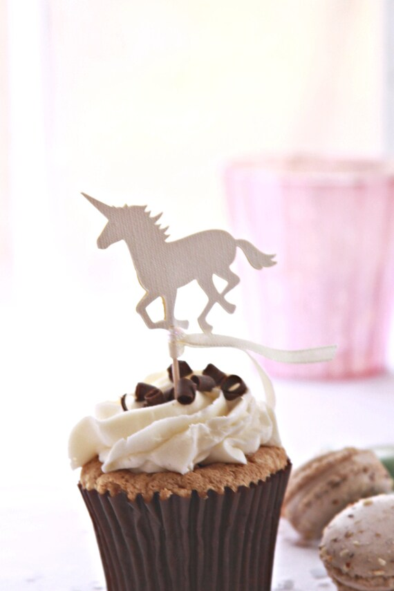 Unicorn Cake Topper, Cupcake Toppers, Unicorn Baby Shower Ideas