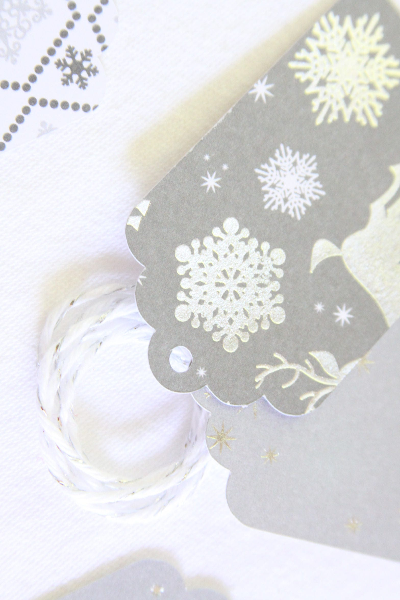 Baby Its Cold Outside, Silver Christmas Tags, Winter Wonderland ...