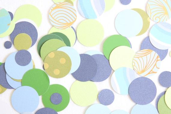 Under The Sea Confetti, Ocean Confetti, Mermaid Bachelorette Confetti