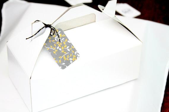 Gable Boxes, Bridesmaid Box, Christmas Gift Box, Party Favor Boxes