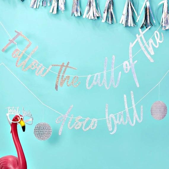Disco Party - Follow the Call of the Disco Ball Banner
