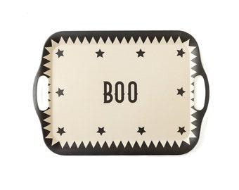 Boo! Bamboo Tray