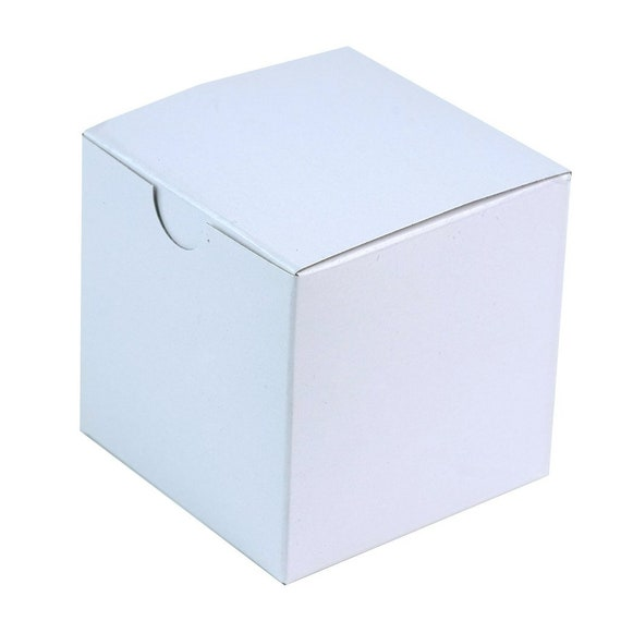 White Wedding Favor Boxes, Bridal Shower Favor Box, Baby Shower Gift Packaging, Bridesmaid Gift Box